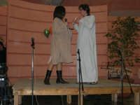 C/da Scampati - Sala Panorama - Cabaret durante la cena di beneficenza a favore dell'AVSI: Ivan D'Angelo e Veronica Sabella di Castellammare del Golfo - 24 febbraio 2006  - Alcamo (1225 clic)