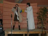 C/da Scampati - Sala Panorama - Cabaret durante la cena di beneficenza a favore dell'AVSI: Ivan D'Angelo e Veronica Sabella di Castellammare del Golfo - 24 febbraio 2006  - Alcamo (1369 clic)