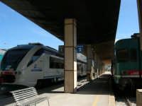 La stazione ferroviaria - 2 ottobre 2005   - Trapani (1372 clic)