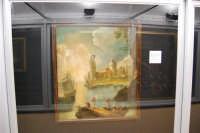 stazione ferroviaria - visita a IL TRENO DELL'ARTE -  Museo per un Giorno - Anonimo XVIII secolo, prima metà - Scena di porto - (25) - 13 ottobre 2007  - Trapani (1399 clic)