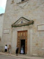 Santuario di Maria SS. dei Miracoli (particolare) - 3 giugno 2006  - Alcamo (1124 clic)