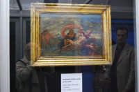 stazione ferroviaria - visita a IL TRENO DELL'ARTE -  Museo per un Giorno - Anonimo XVIII secolo - Mito della Nereide Galatea - (28) - 13 ottobre 2007  - Trapani (1347 clic)