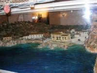 All'interno del Castello Arabo Normanno, in mostra il plastico che riproduce Scopello - 22 ottobre 2005  - Castellammare del golfo (1422 clic)