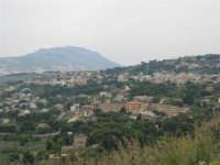 panorama dalla strada, appena fuori dal paese - 25 aprile 2006  - Valderice (3042 clic)