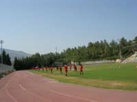 Stadio Comunale - Campus Milan: i ragazzi si allenano - 6 luglio 2006  - Alcamo (1900 clic)
