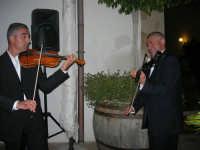 violinisti Giuseppe Di Giovanni e Giovanni Pitò (alcamesi)- concerto al Baglio Abbate - 12 settembre 2008  - Balestrate (1837 clic)