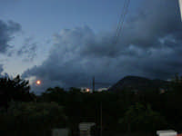 Gioco di nubi al mattino sul Monte Bonifato - 15 settembre 2005  - Alcamo (1318 clic)