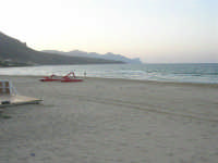 Spiaggia Plaja, tardo pomeriggio - 30 settembre 2007  - Castellammare del golfo (690 clic)