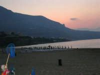 spiaggia Playa a sera - 13 luglio 2006  - Castellammare del golfo (1446 clic)