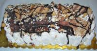 tronchetto di gelato alla nocciola e cioccolato - 9 luglio 2006  - Alcamo (3461 clic)