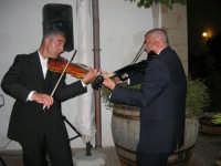violinisti Giuseppe Di Giovanni e Giovanni Pitò (alcamesi)- concerto al Baglio Abbate - 12 settembre 2008  - Balestrate (1689 clic)