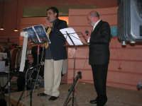 C/da Scampati - Sala Panorama - Cabaret durante la cena di beneficenza a favore dell'AVSI: Baldo Sabella e Francantonio D'Angelo di Castellammare del Golfo - 24 febbraio 2006  - Alcamo (1230 clic)
