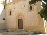 facciata laterale del Santuario di Maria SS. di Custonaci - 6 settembre 2007  - Custonaci (1080 clic)