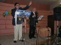 C/da Scampati - Sala Panorama - Cabaret durante la cena di beneficenza a favore dell'AVSI: Baldo Sabella e Francantonio D'Angelo di Castellammare del Golfo - 24 febbraio 2006  - Alcamo (1191 clic)