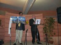 C/da Scampati - Sala Panorama - Cabaret durante la cena di beneficenza a favore dell'AVSI: Baldo Sabella e Francantonio D'Angelo di Castellammare del Golfo - 24 febbraio 2006  - Alcamo (1166 clic)