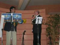 C/da Scampati - Sala Panorama - Cabaret durante la cena di beneficenza a favore dell'AVSI: Baldo Sabella e Francantonio D'Angelo di Castellammare del Golfo - 24 febbraio 2006  - Alcamo (1308 clic)