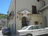 a spasso per il paese: cappella dedicata a Maria SS. della Provvidenza - 17 giugno 2007  - Chiusa sclafani (1019 clic)