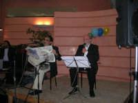 C/da Scampati - Sala Panorama - Cabaret durante la cena di beneficenza a favore dell'AVSI: Baldo Sabella e Francantonio D'Angelo di Castellammare del Golfo - 24 febbraio 2006  - Alcamo (1234 clic)