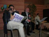 C/da Scampati - Sala Panorama - Cabaret durante la cena di beneficenza a favore dell'AVSI: Baldo Sabella e Francantonio D'Angelo di Castellammare del Golfo - 24 febbraio 2006  - Alcamo (1268 clic)