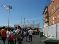 L'ingresso all'America's Cup Park, sul lungomare, tra via Torrearsa e via Rollo - 2 ottobre 2005   - Trapani (1874 clic)
