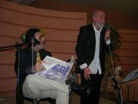C/da Scampati - Sala Panorama - Cabaret durante la cena di beneficenza a favore dell'AVSI: Baldo Sabella e Francantonio D'Angelo di Castellammare del Golfo - 24 febbraio 2006  - Alcamo (1180 clic)