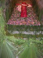 Cene di San Giuseppe - Infiorata della pace - scalinata di Sant'Annedda - via G. Falciglia - 15 marzo 2009   - Salemi (2339 clic)