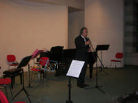 presso il Centro Congressi Marconi, il Concerto del Quintetto Caravaglios - presenta il prof. Giuseppe Camporeale (1) - 28 dicembre 2007   - Alcamo (962 clic)