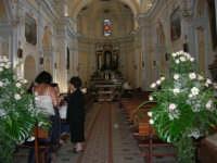 Chiesa di Santa Maria del Gesù: interno - 22 luglio 2006  - Alcamo (1264 clic)