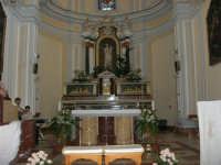 Chiesa di Santa Maria del Gesù: interno - 22 luglio 2006  - Alcamo (1286 clic)
