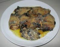 gli involtini di melanzane di Giovanna, con ripieno di prosciutto e mozzarella - 17 giugno 2007  - Chiusa sclafani (3620 clic)