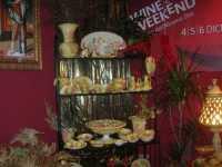 WINE WEEKEND - Vetrina dell'Alcamo DOC - ceramiche - Cortile del Collegio dei Gesuiti - 4 dicembre 2009  - Alcamo (2399 clic)