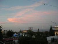 si fa sera: il cielo si tinge di rosa - 3 settembre 2007  - Alcamo (1112 clic)