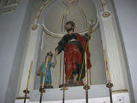 interno della Chiesa Maria SS. delle Grazie: San Giuseppe e Gesù Bambino - 3 settembre 2008   - Torretta (1925 clic)