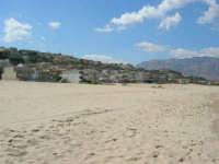 da zona Canalotto: la spiaggia, le case - 4 settembre 2007  - Alcamo marina (1072 clic)