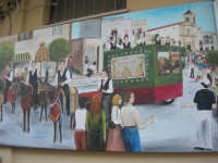 Festa della Madonna di Tagliavia: nei dipinti lungo la strada - 4 maggio 2008  - Vita (2082 clic)