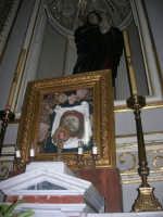 interno della Chiesa Maria SS. delle Grazie: Santo Volto e Madonna Addolorata - 3 settembre 2008   - Torretta (3469 clic)