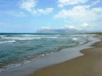 c/da Canalotto: panorama del Golfo di Castellammare, lato est - 4 agosto 2006  - Alcamo marina (1210 clic)