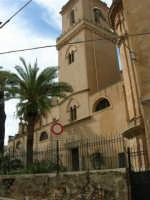 Basilica di Santa Maria Assunta (entrata secondaria): campanile - 25 febbraio 2006   - Alcamo (1279 clic)