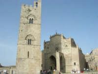 Duomo (sec. XIV) e Torre Campanaria (sec. XIII)- 1 maggio 2008      - Erice (821 clic)