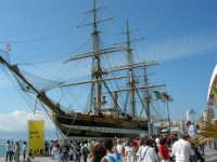 America's Cup - La nave scuola Amerigo Vespucci - 2 ottobre 2005  - Trapani (2475 clic)