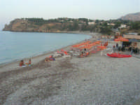 Baia di Guidaloca a sera - 16 settembre 2007  - Castellammare del golfo (567 clic)