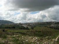 Panorama dalla periferia lato nord - 25 febbraio 2006   - Alcamo (1214 clic)