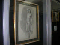 stazione ferroviaria - visita a IL TRENO DELL'ARTE -  Museo per un Giorno - Tommaso Minardi - Fanciullo in piedi come genio funerario - (39) - 13 ottobre 2007  - Trapani (1594 clic)