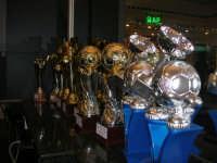 le Coppe del XXII Torneo COSTA GAIA - anno 2009 - esposte presso l'Enny Bar - 14 dicembre 2008   - Alcamo (1487 clic)