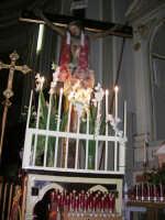 interno della Chiesa Maria SS. delle Grazie: Gesù sulla croce - 3 settembre 2008   - Torretta (1392 clic)