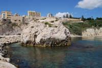 lo scoglio ed il mare - 25 aprile 2008   - Sciacca (1326 clic)