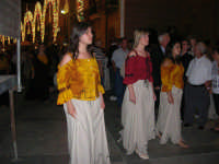 Festeggiamenti Maria SS. dei Miracoli - Il Corteo dei Conti di Modica in Piazza Ciullo - 20 giugno 2008   - Alcamo (508 clic)