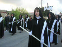Processione della Via Crucis con gruppi statuari viventi - 5 aprile 2009   - Buseto palizzolo (1689 clic)