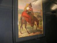 stazione ferroviaria - visita a IL TRENO DELL'ARTE -  Museo per un Giorno - Cherubino Cornienti - Coppia di contadini - (43) - 13 ottobre 2007  - Trapani (1549 clic)