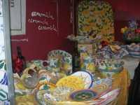 WINE WEEKEND - Vetrina dell'Alcamo DOC - ceramiche - Cortile del Collegio dei Gesuiti - 4 dicembre 2009  - Alcamo (2218 clic)